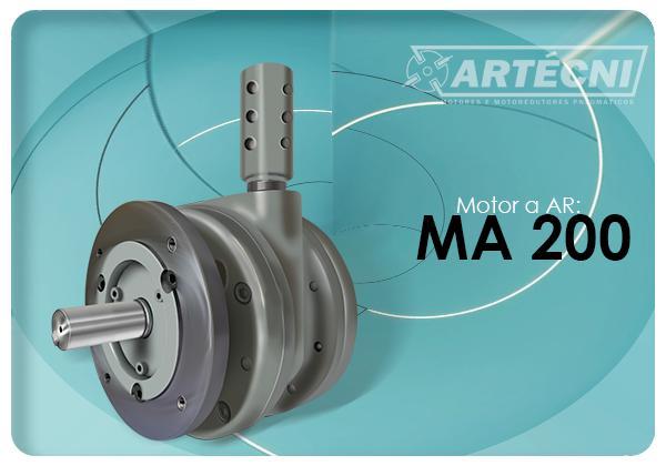 Motor a Ar: 200